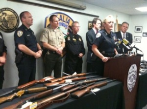 After a rash of gang-related shootings, gang suppression units